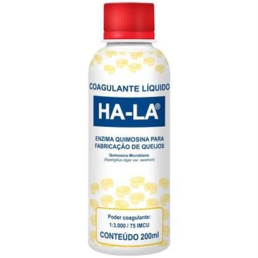 Coalho Ha-La Liquido 200ml Para Fabricação De Queijo