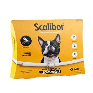 Coleira Antiparasitária Scalibor 48 cm Tamanho P para Cães de Até 19 kg