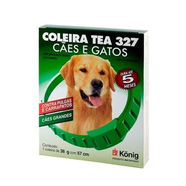 Coleira Tea Antipulgas E Carrapatos Tamanho Grande 38gr