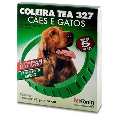 Coleira Tea Antipulgas E Carrapatos Tamanho Média 28gr
