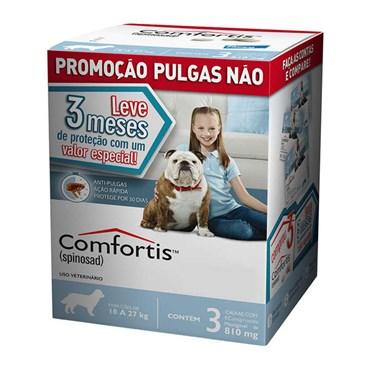 Combo Antipulgas Comfortis Elanco para Cães de 18 a 27 kg 810 mg
