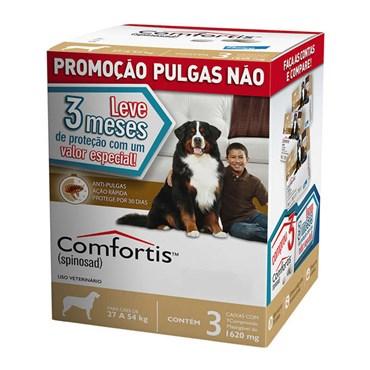 Combo Antipulgas Comfortis Elanco para Cães de 27 a 54 kg 1620 mg