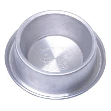 Comedouro de Alumínio Pesado Com Borda Anti-Formiga - Fadelli