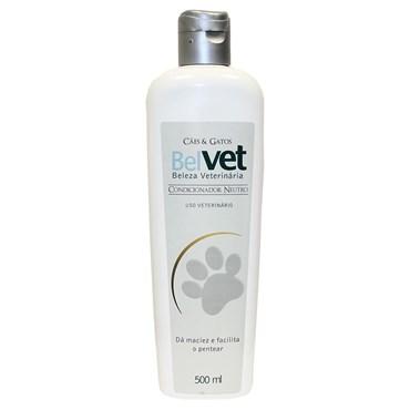 Condicionador Belvet Para Cães e Gatos Neutro 500ml