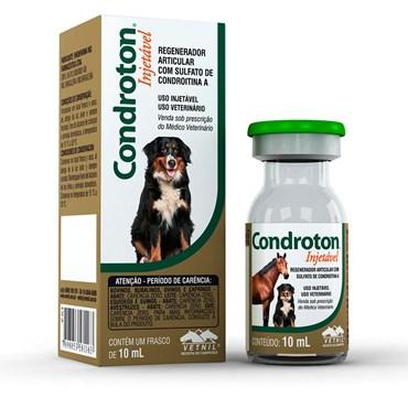 Condroton Pet - Regenerador Articular  Injetável - 10 ml