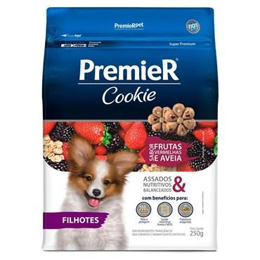 Cookie Premier Frutas Vermelhas Com Aveia Cães Filhotes 250g