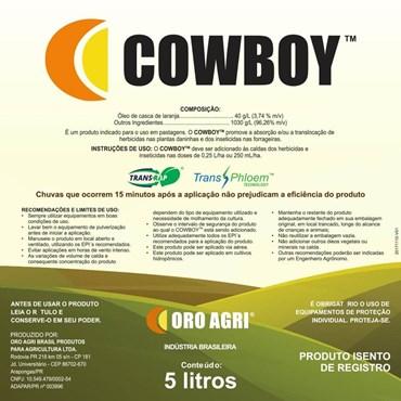 Cowboy Surfactante a Base de Óleo da Casca da Laranja Para Pastagens 5 L - Oro-Agri