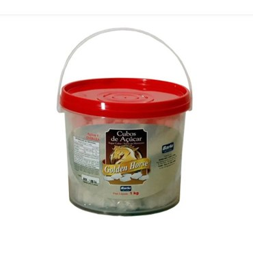 Cubos de Açúcar para Cavalos Golden Horse 1 kg