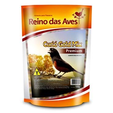 Curió Gold Mix Premium 500g - REINO DAS AVES