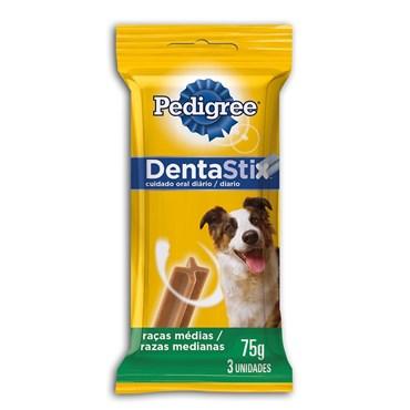 DentaStix Pedigree para Cães de Raças Médias com 3 Unidades 75g