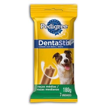 DentaStix Pedigree para Cães de Raças Médias com 7 Unidades 180g