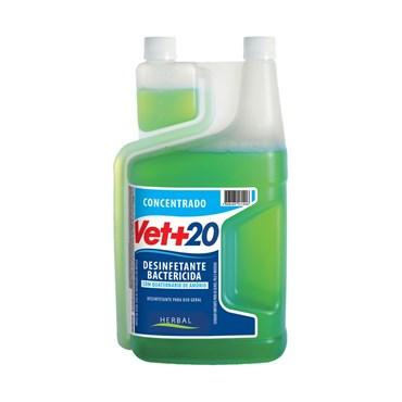 Desinfetante Concentrado Bactericida + Germicida + Fungicida - Vet+20