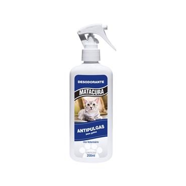 Desodorante Spray Antipulgas Para Gatos 200ml - Matacura