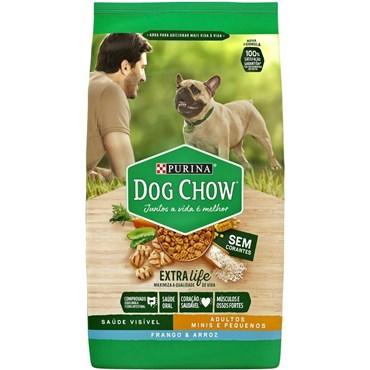Dog Chow Cães Adultos de Raças Pequenas sabor Frango e Arroz 15kg