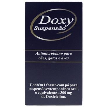 Doxy 300mg Suspensão Antimicrobiano Para Cães e Gatos