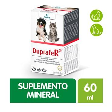 Duprafer Suplemento Mineral Vitamínico para Alimentação Animal para Animais de Pequeno e Grande Porte