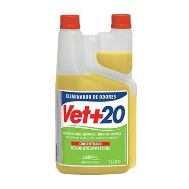 Eliminador de Odores Concentrado Vet+20 1 Litro