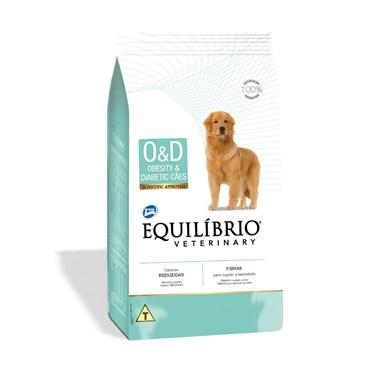 Equilíbrio Veterinary Cães Obesity e Diabetic 2kg