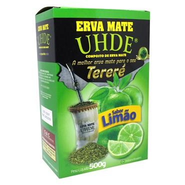 Erva Mate Para Tereré UHDE Limão 500g