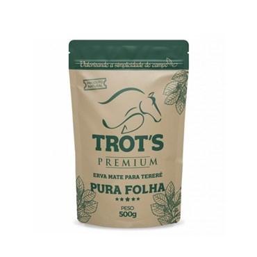 Erva Mate Premium Para Tereré Pura Folha 500 g - Trot's