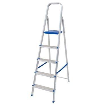 Escada de Alumínio Residencial 5 Degraus - Mor