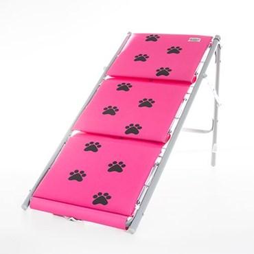Escada Rampa One Para Pet Cor Rosa - Tubline