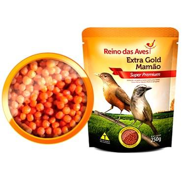Extra Gold Mamão Super Premium 250g - REINO DAS AVES