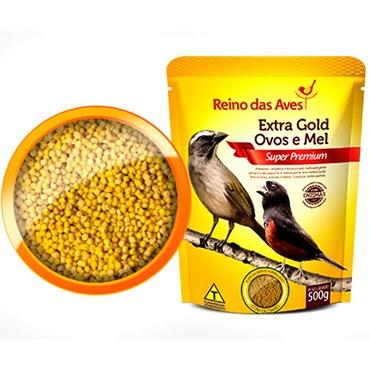 Extra Gold Ovos e Mel Super Premium 500g - REINO DAS AVES