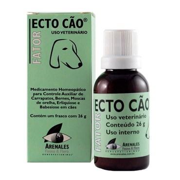 Fator Medicamento Homeopático Ecto Cão 26g - Arenales