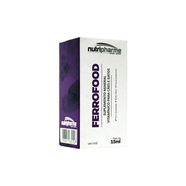 Ferrofood Suplemento Mineral Vitamínico para Cães e Gatos - 50ml