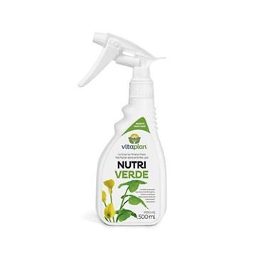Fertilizante Foliar Misto Nutriverde Pronto Uso 500ml - Vitaplan