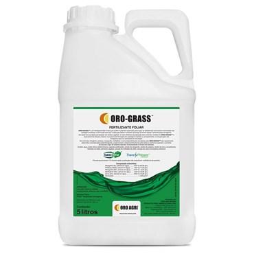 Fertilizante Foliar Misto Oro-Grass para Pastagens 5 L - Oro Agri Brasil