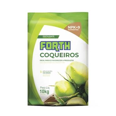 Fertilizante Forth para Coqueiros 10kg