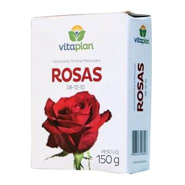 Fertilizante Mineral Misto 08-12-10 Para Rosas 150g - Nutriplan