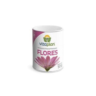 Fertilizante Mineral Misto em Pastilhas para Flores 50g VITAPLAN