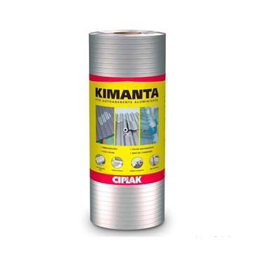 Fita Autocolante Aluminizada (Manta Asfáltica) Multiuso 10 Metros de Comprimento - Kimanta