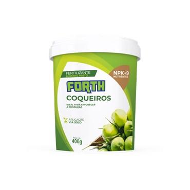 Forth Fertilizante Para Coqueiros 400g