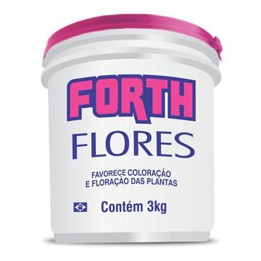 Forth Fertilizante Para Flores 3kg