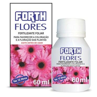 Forth Fertilizante Para Flores Líquido Concentrado 60ml