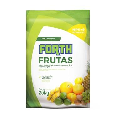 Forth Fertilizante Para Frutas 25kg