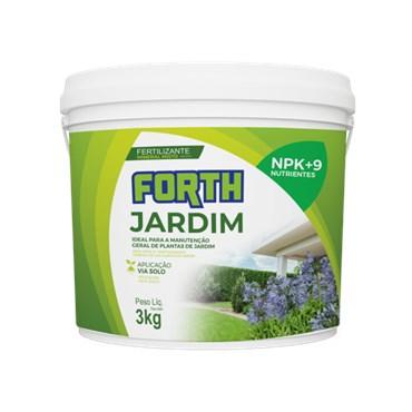 Forth Fertilizante Para Jardim 3kg