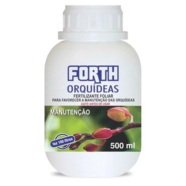 Forth Fertilizante Para Orquídeas Manutenção Concentrado 500ml