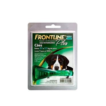 Frontline Plus GG para Cães acima de 40 kg