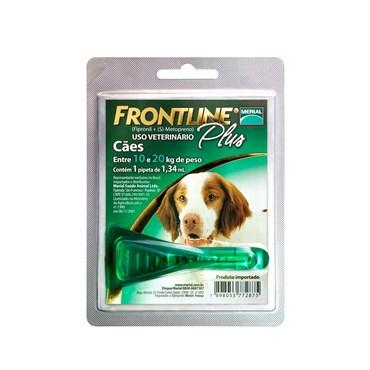 Frontline Plus M para Cães de 10 a 20 kg