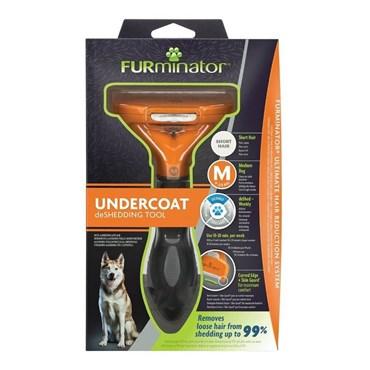 Furminator Dog para Cães Médios com Pelos Curtos