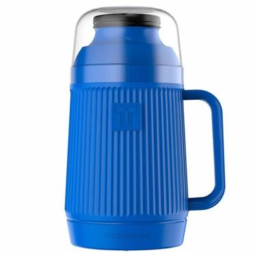 Garrafa Térmica Mundial cor Azul 500ml - TERMOLAR