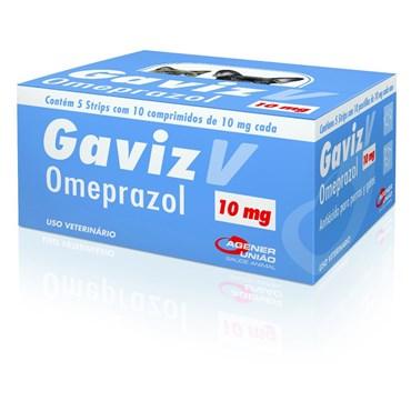 Gaviz V Omeprazol 10mg- 10 Comprimidos