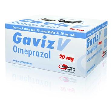 Gaviz V Omeprazol 20 mg - 10 Comprimidos