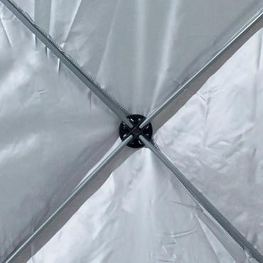 Gazebo Articulado Trixx 3m x 3m Estrutura de Treliça em Alumínio Reforçada com Aço - Nautika