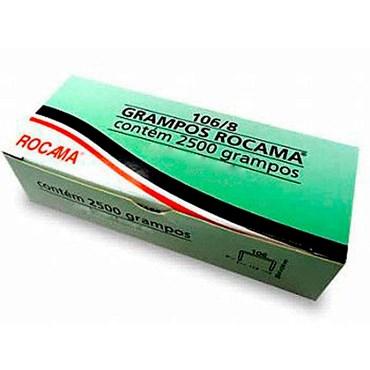 Grampo Rocama 106/8 com 2.500 grampos